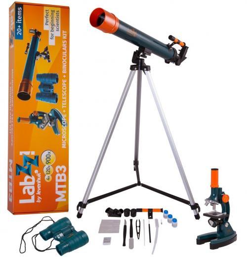 Levenhuk LabZZ MTB3 mikroszkóp-, teleszkóp- és kétszemes távcső-készlet | DigitalPlaza.hu