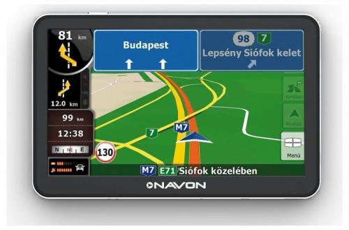 Navon N670 Plus navigáció iGO Primo NextGen teljes Európa térképpel fekete | DigitalPlaza.hu