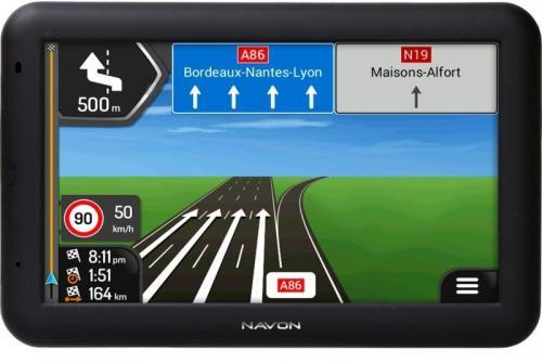 Navon A500 navigáció iGo Primo NextGen teljes Európa térképpel fekete | DigitalPlaza.hu