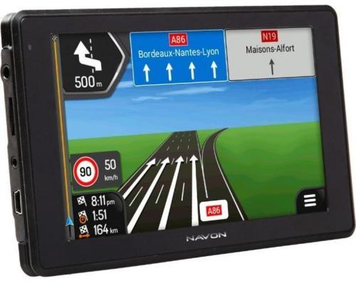 Navon A520 DVR navigáció iGO Primo NextGen teljes Európa térképpel fekete | DigitalPlaza.hu