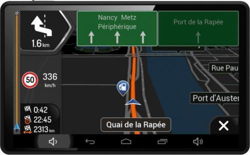 Navon A520 DVR Truck navigáció iGO Primo NextGen TRUCK teljes Európa térképpel fekete | DigitalPlaza.hu