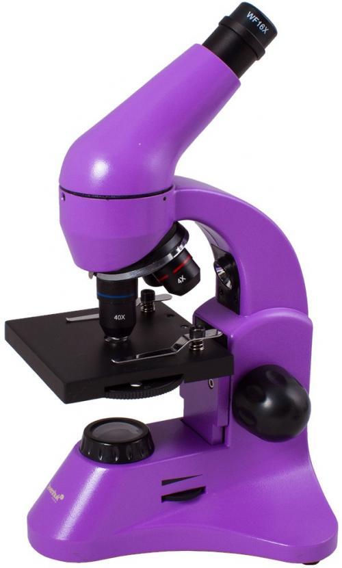 Levenhuk Rainbow 50L PLUS Amethyst / Ametiszt mikroszkóp | DigitalPlaza.hu