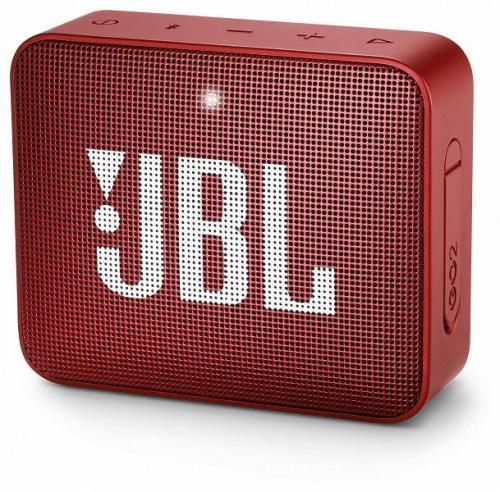 JBL GO 2 hordozható bluetooth hangszóró vörös | DigitalPlaza.hu
