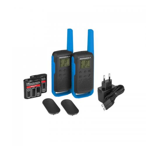 Motorola TLKR T62 walkie talkie kék | DigitalPlaza.hu