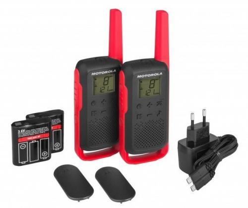Motorola TLKR T62 walkie talkie piros | DigitalPlaza.hu