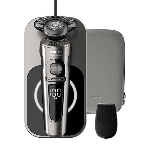 Philips SP9860/13 Shaver Series 9000 Prestige nedves és száraz elektromos borotva | DigitalPlaza.hu