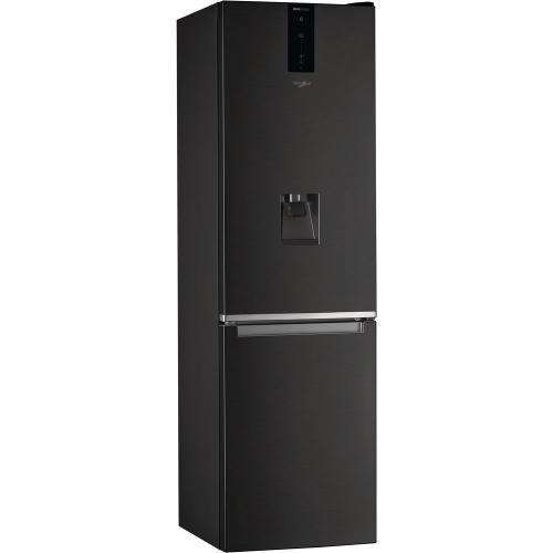 Whirlpool W7 921O K AQUA alulfagyasztós hűtőszekrény 256L+104L A++ energiaosztály | DigitalPlaza.hu