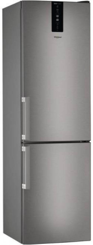 Whirlpool W7 931T OX H alulfagyasztós hűtőszekrény 197L+111L A++ energiaosztály | DigitalPlaza.hu