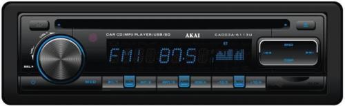 Akai CA003-6113U CD/SD/BT/USB/AUX autóhifi fejegység | DigitalPlaza.hu