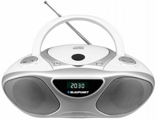 Blaupunkt BB4WH hordozható rádió fehér | DigitalPlaza.hu