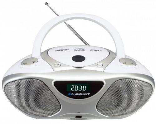 Blaupunkt BB14WH hordozható rádió fehér | DigitalPlaza.hu