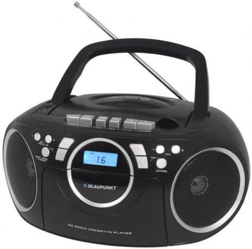 Blaupunkt BB16BK hordozható rádió fekete | DigitalPlaza.hu