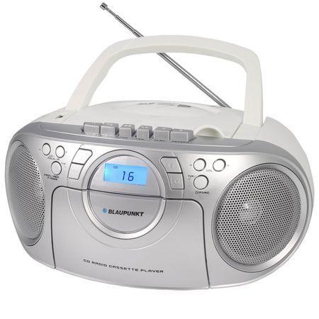Blaupunkt BB16WH hordozható rádió fehér | DigitalPlaza.hu