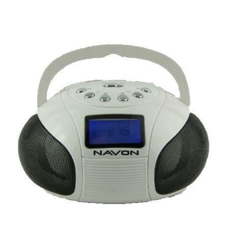 Navon NPB100 boombox fehér | DigitalPlaza.hu