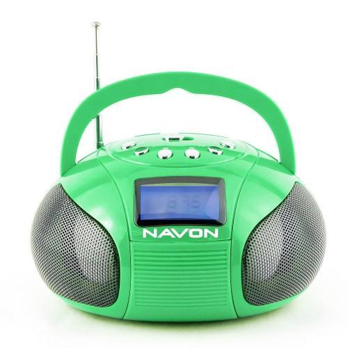 Navon NPB100 boombox zöld | DigitalPlaza.hu