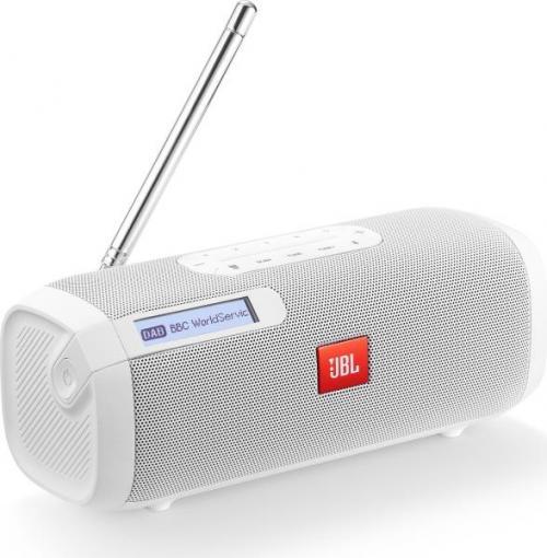 JBL Tuner bluetooth hangszóró rádióval fehér | DigitalPlaza.hu
