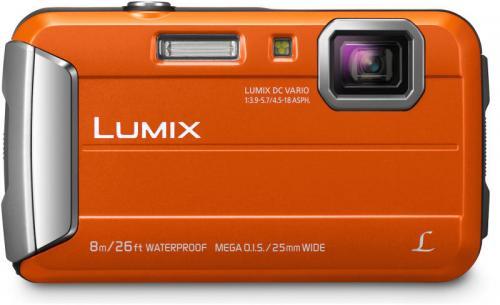 Panasonic Lumix DMC-FT30 digitális fényképezőgép narancssárga | DigitalPlaza.hu