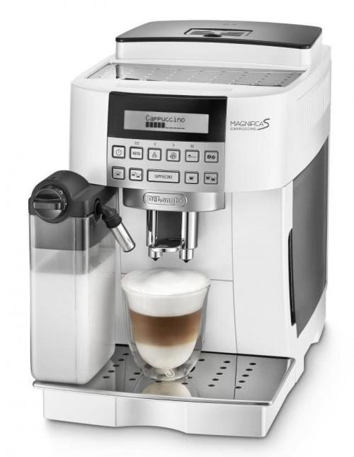 DeLonghi ECAM 22.360 W Magnifica S automata kávéfőző fehér | DigitalPlaza.hu