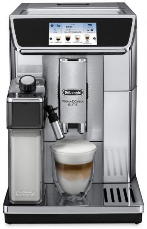 DeLonghi ECAM 650.75.MS PrimaDonna Elite automata kávéfőző | DigitalPlaza.hu