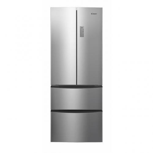 Candy CCMN 7182 IXS/1 Side by Side hűtőszekrény 286L+85L A+ energiaosztály | DigitalPlaza.hu