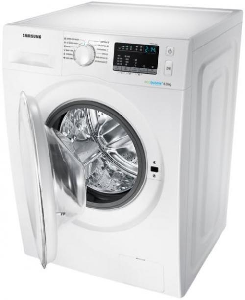 Samsung WW60J4260LW1LE elöltöltős mosógép 6kg 1200 ford./perc A+++ energiaosztály | DigitalPlaza.hu