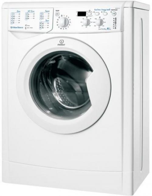 Indesit IWUD 41252 C ECO EU elöltöltős mosógép 4kg 1200 ford./perc A++ energiaosztály | DigitalPlaza.hu