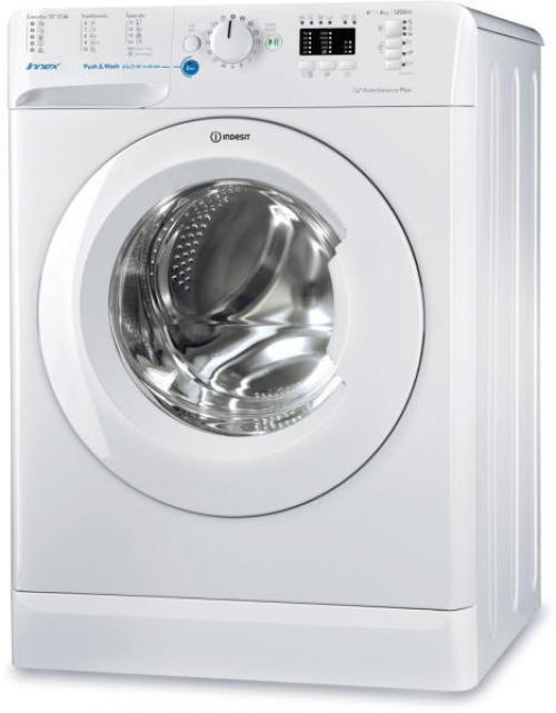 Indesit BWSA 61253 W EU elöltöltős mosógép 6kg 1200 ford./perc A+++ energiaosztály | DigitalPlaza.hu