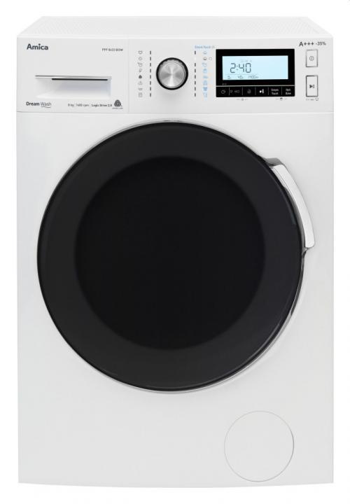 Amica PPS 8423 BSIW elöltöltős mosógép 8kg 1400 ford./perc A+++ energiaosztály | DigitalPlaza.hu