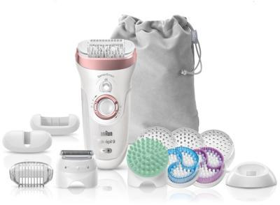 Braun Silk-épil 9 9/990 SkinSpa SensoSmart epilátor szett | DigitalPlaza.hu