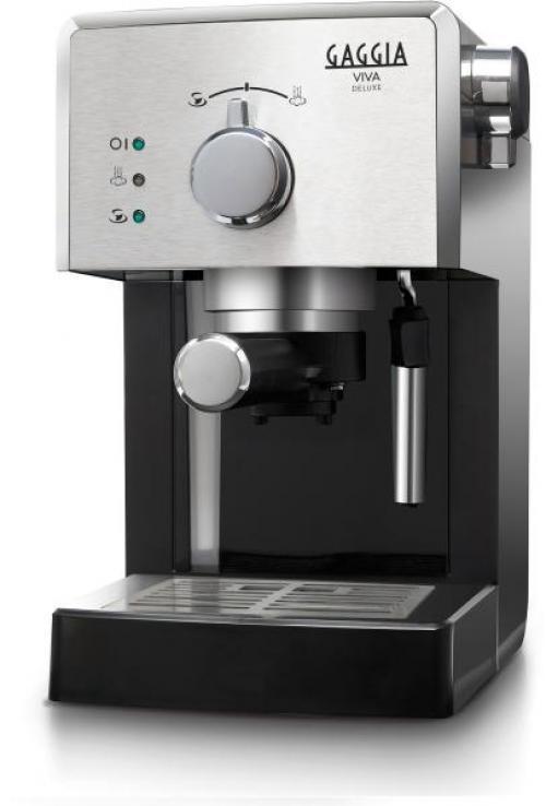 Gaggia RI8435/11 Viva DeLuxe karos kávéfőző ezüst | DigitalPlaza.hu
