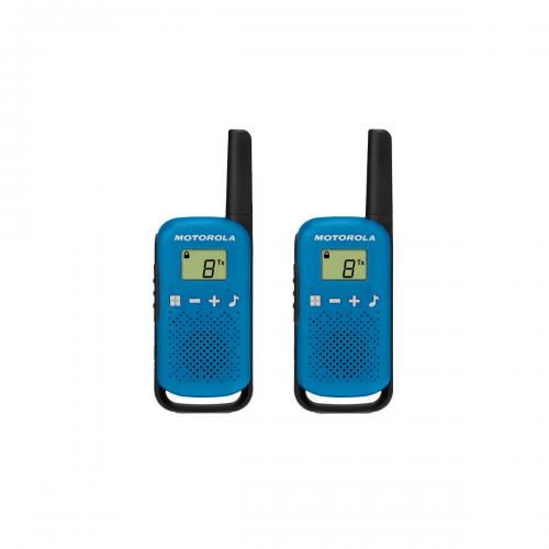 Motorola TALKABOUT (TLKR) T42 walkie talkie kék | DigitalPlaza.hu