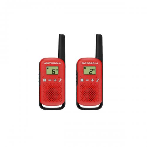Motorola TALKABOUT (TLKR) T42 walkie talkie piros | DigitalPlaza.hu