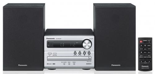 Panasonic SC-PM250EC-S Bluetooth mikrohifi ezüst-fekete | DigitalPlaza.hu