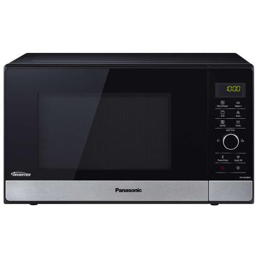 Panasonic NN-GD38HSSUG 23L, inverteres, grilles mikrohullámú sütő | DigitalPlaza.hu
