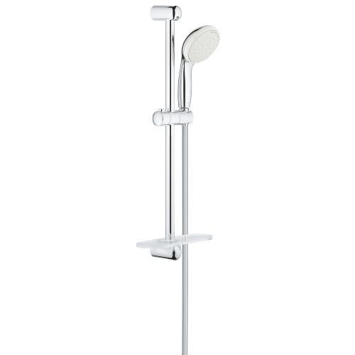 Grohe New Tempesta 100 zuhanyzó készlet, állítható tartó és zuhanycső krómozott 27926001 | DigitalPlaza.hu